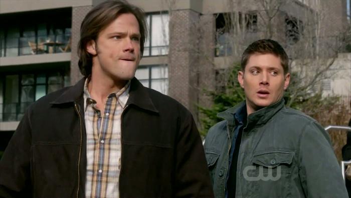 Sam et Dean effrayés par leur destin