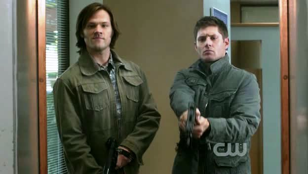 Sam et Dean armés