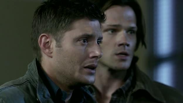 Dean et Sam apeurés