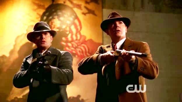 Dean et Eliot Ness