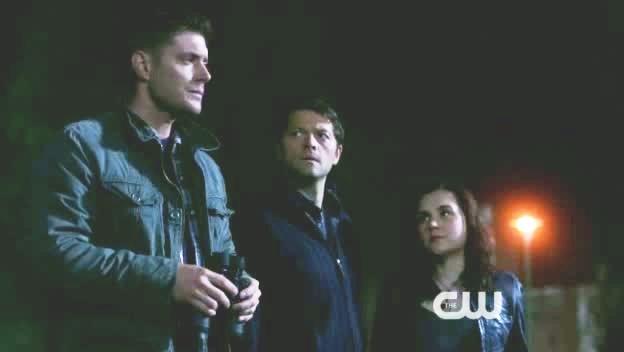 Dean Castiel et Meg