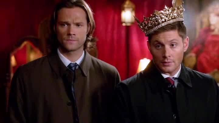 sam, dean et la couronne