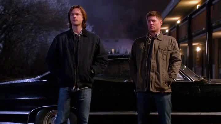 Dean et Sam avant la conversation sur le confiance