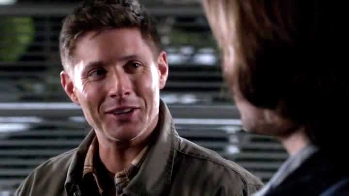 Dean qui ne peut pas s'empêcher de blaguer