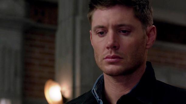Dean triste apres la mort de Kevin