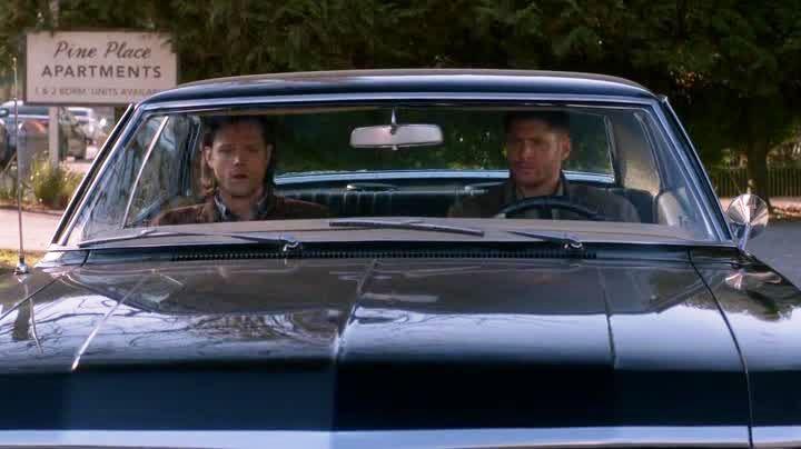 Dean et Sam avant leur conversation