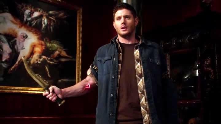 Dean possédé par la lame