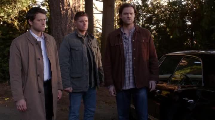 Cas Dean et Sam perplexes