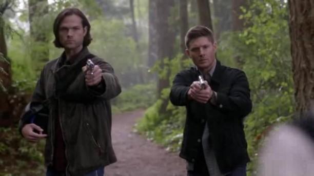 Dean et Sam prets a en decoudre