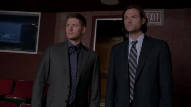 Sam et Dean decouvrant le musical supernatural