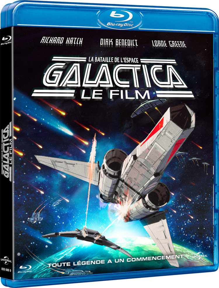 Bluray Galactica-film