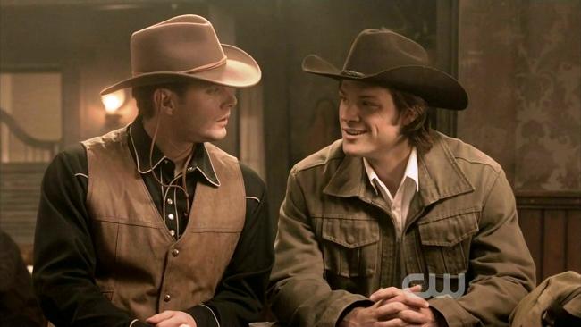 Dean et Sam au saloon