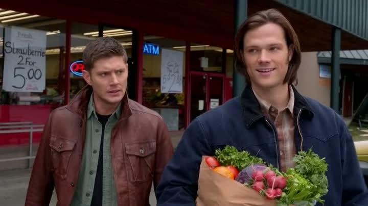 Sam et Dean font leurs courses