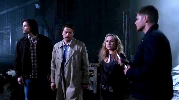 Sam Cas Meg et Dean partent à l'aventure